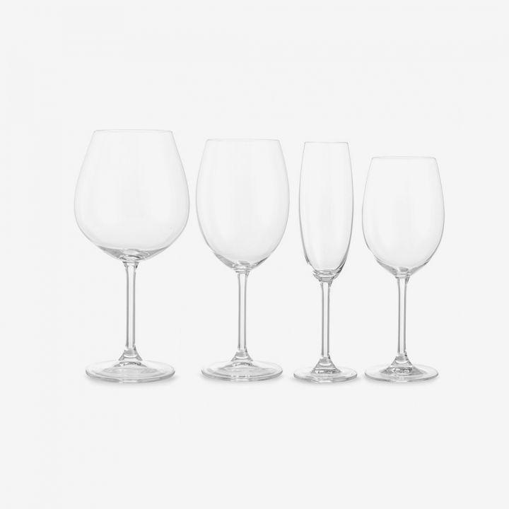 סדרת כוסות זכוכית COLIBRI