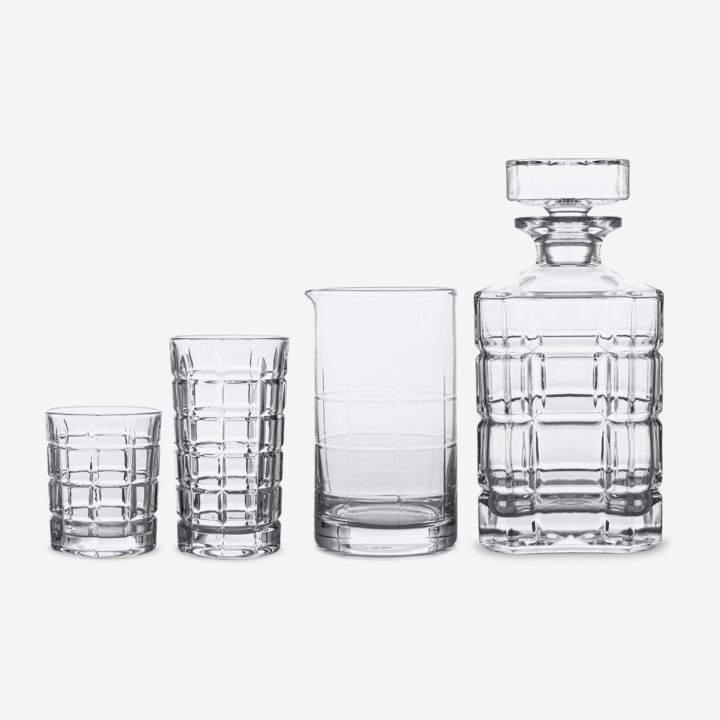 סדרת כלי זכוכית FINLAY
