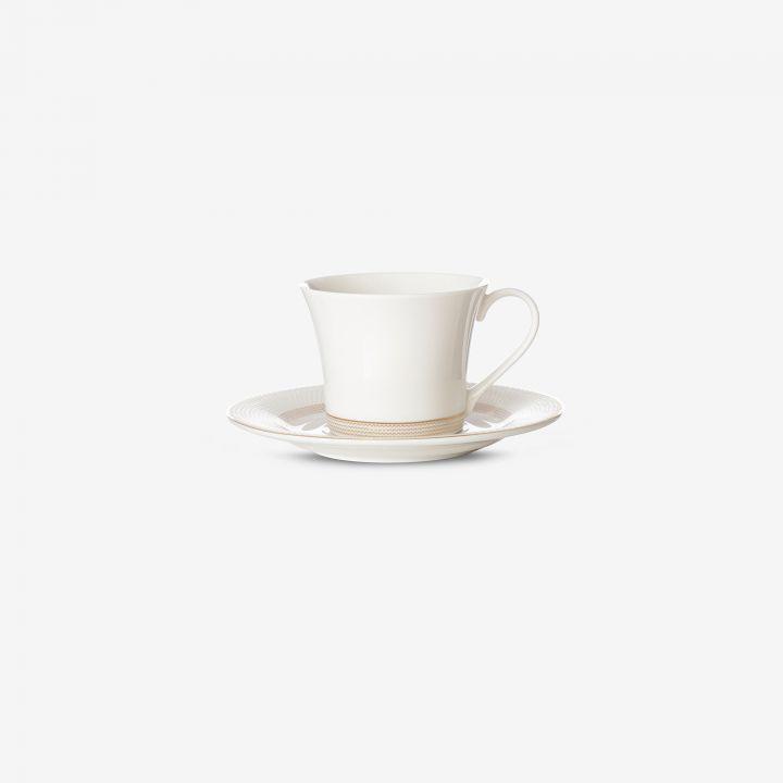 ספל ותחתית לקפה ROYAL