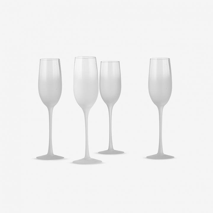 מארז 4 כוסות שמפניה
