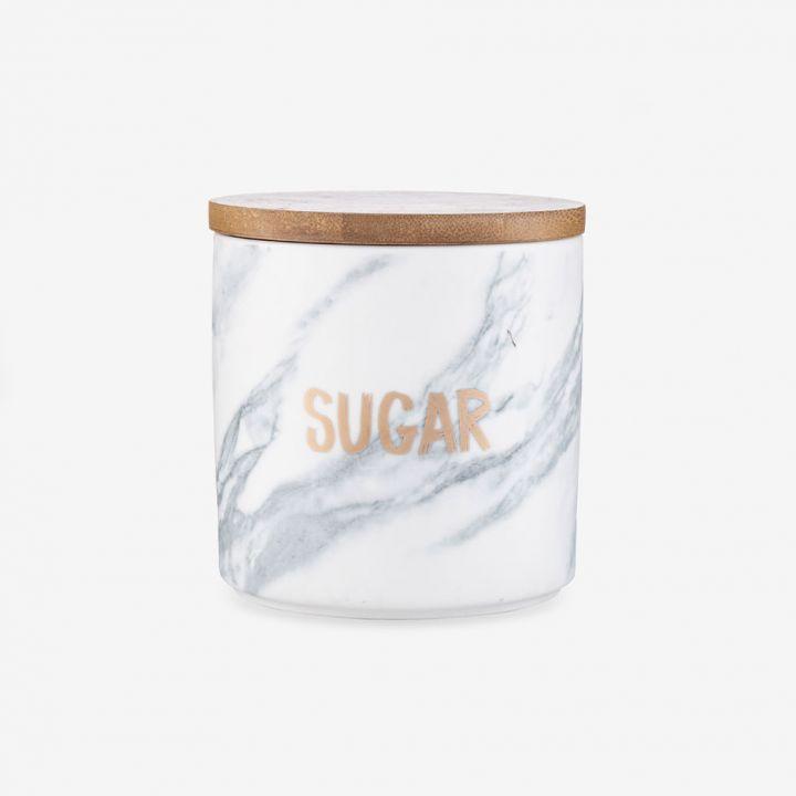 צנצנת לאחסון סוכר MARBLE