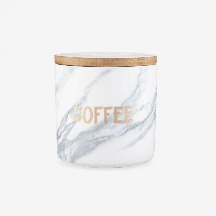 צנצנת לאחסון קפה MARBLE