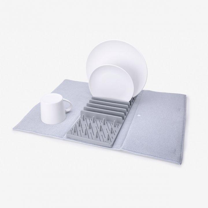משטח בד ומתקן לייבוש כלים