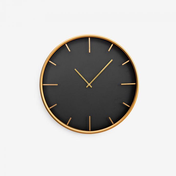 שעון קיר מוזהב HUGO