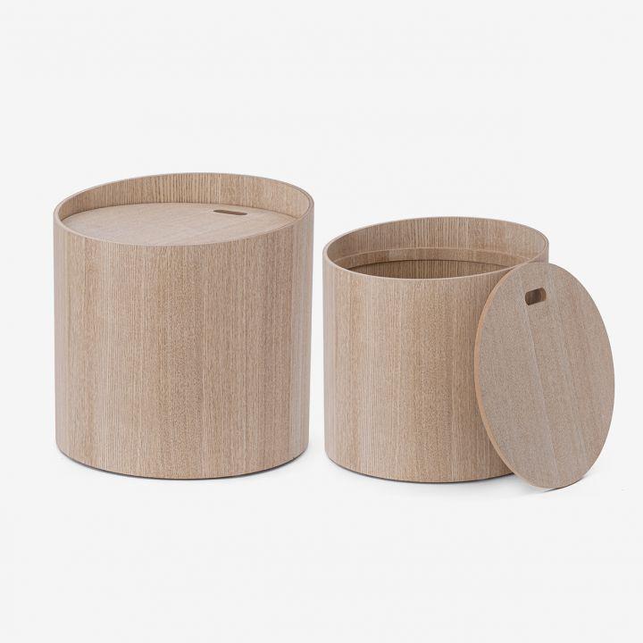 שולחן צד מעץ COCOON