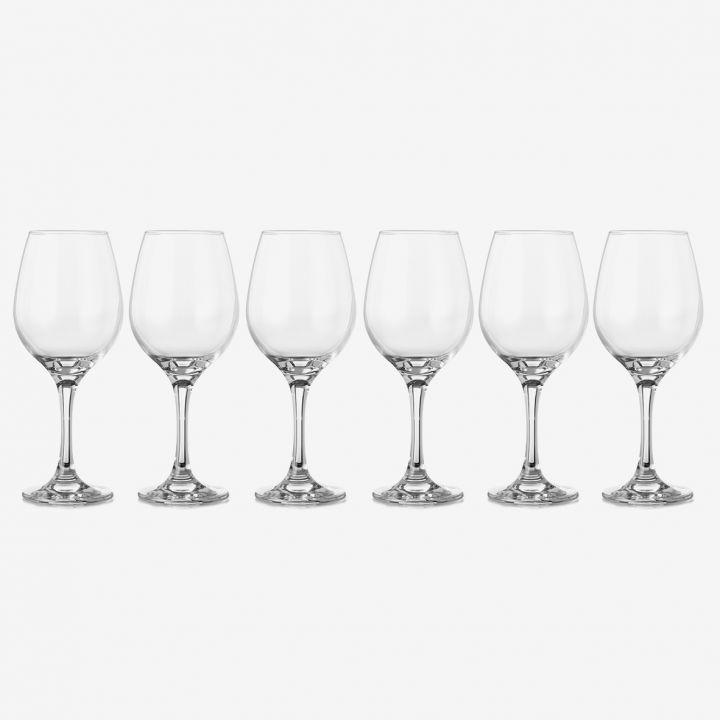 סט כוסות יין AMBER