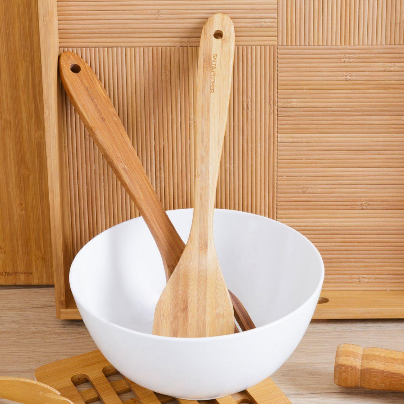 סדרת כלי במבוק למטבח