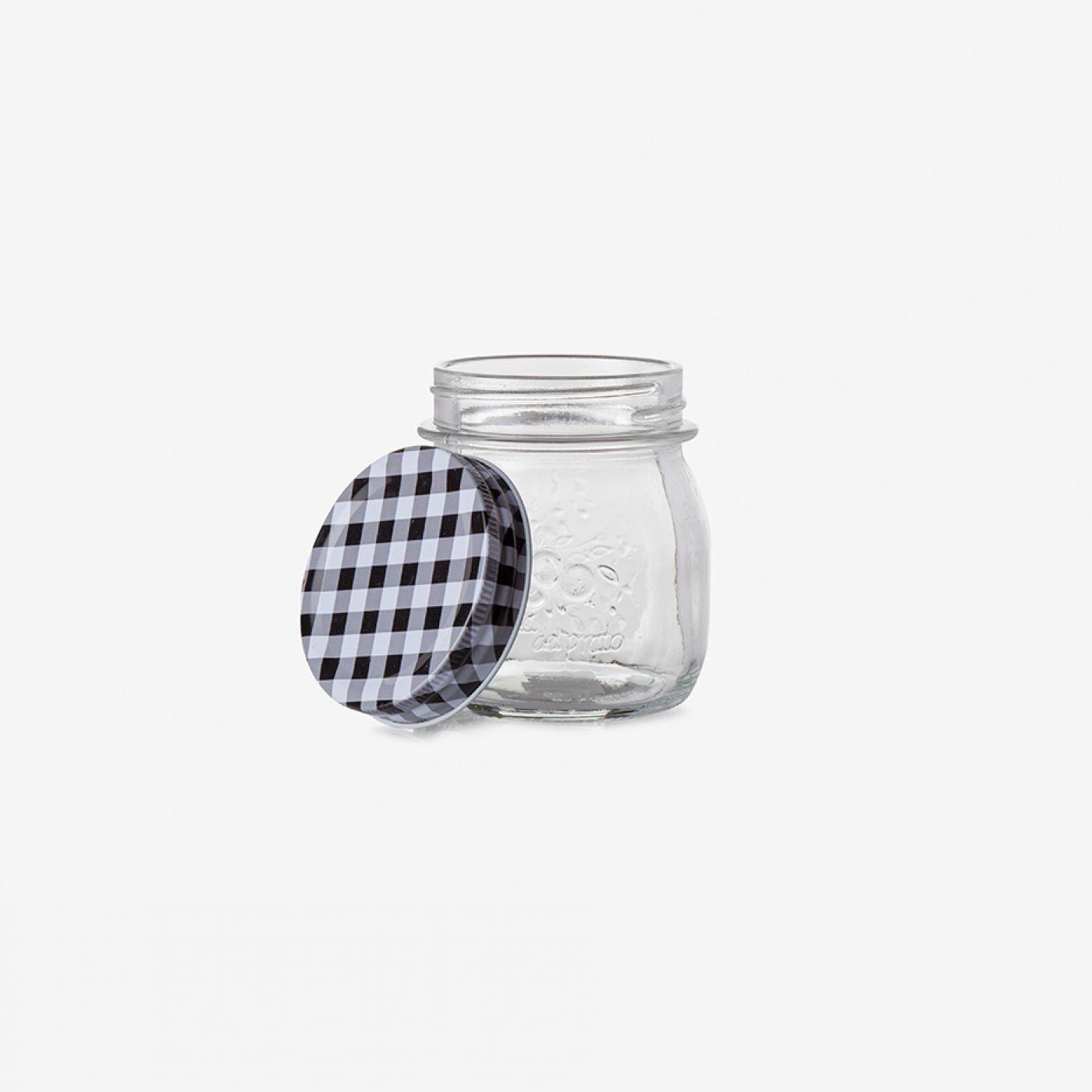 צנצנת זכוכית PICNIC | קטן