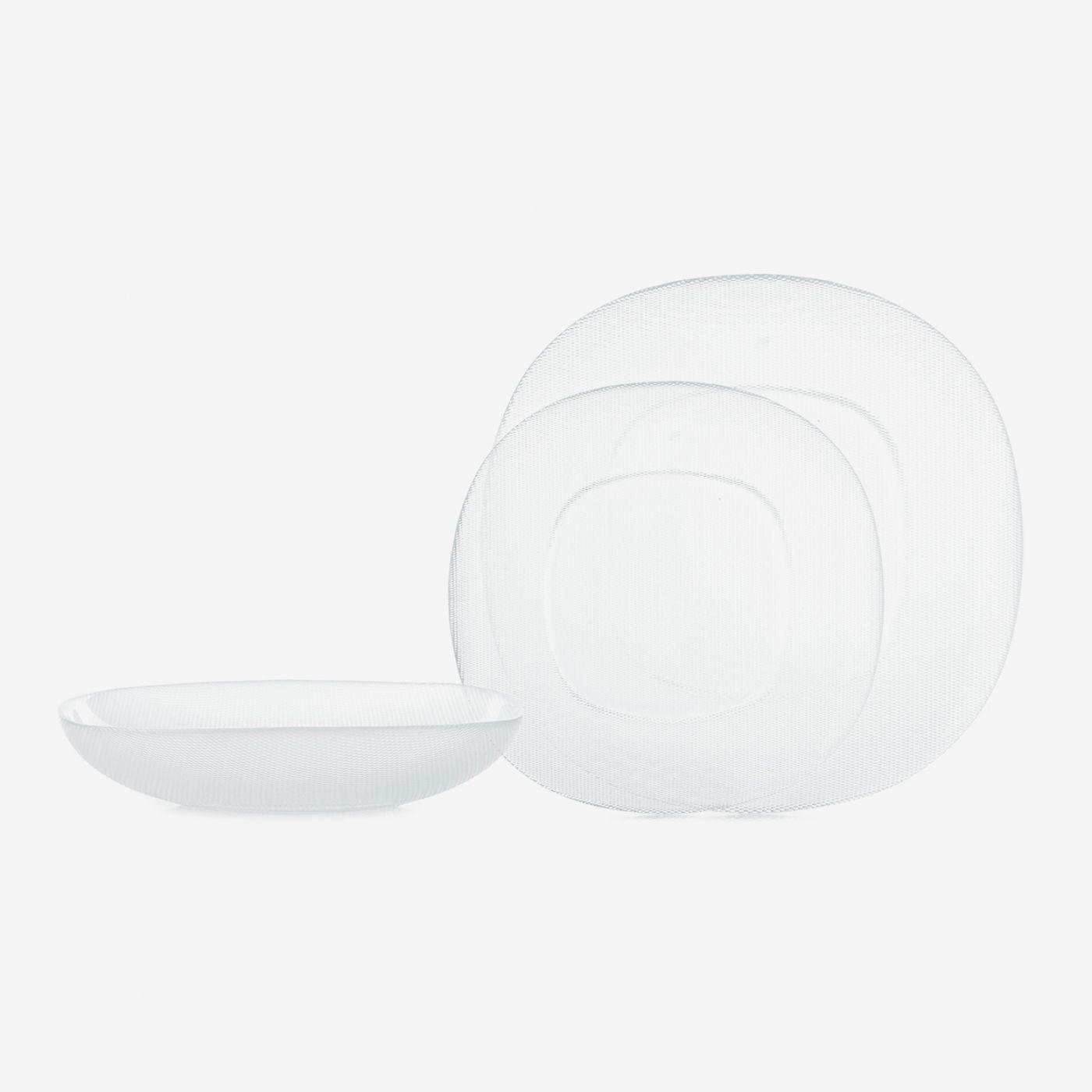 צלחת זכוכית QUADRA | מרק