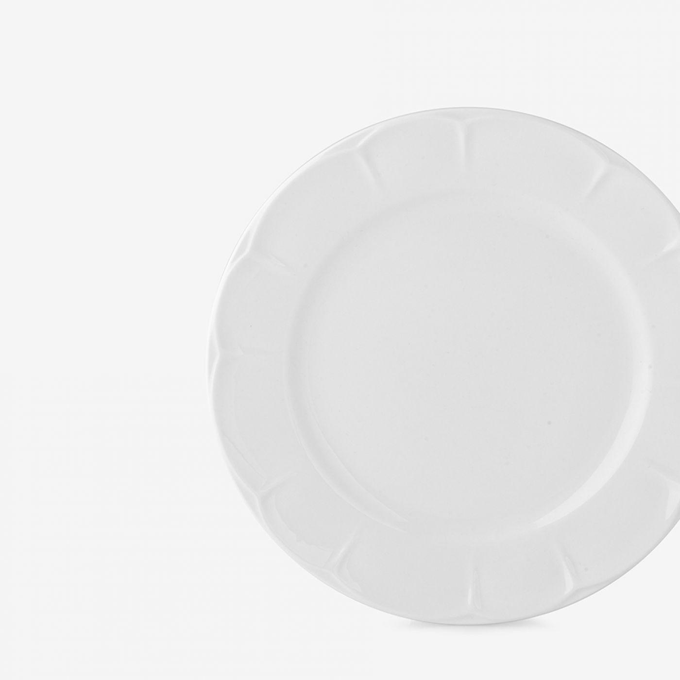 סט 6 צלחות פורצלן EMMA | ראשונה