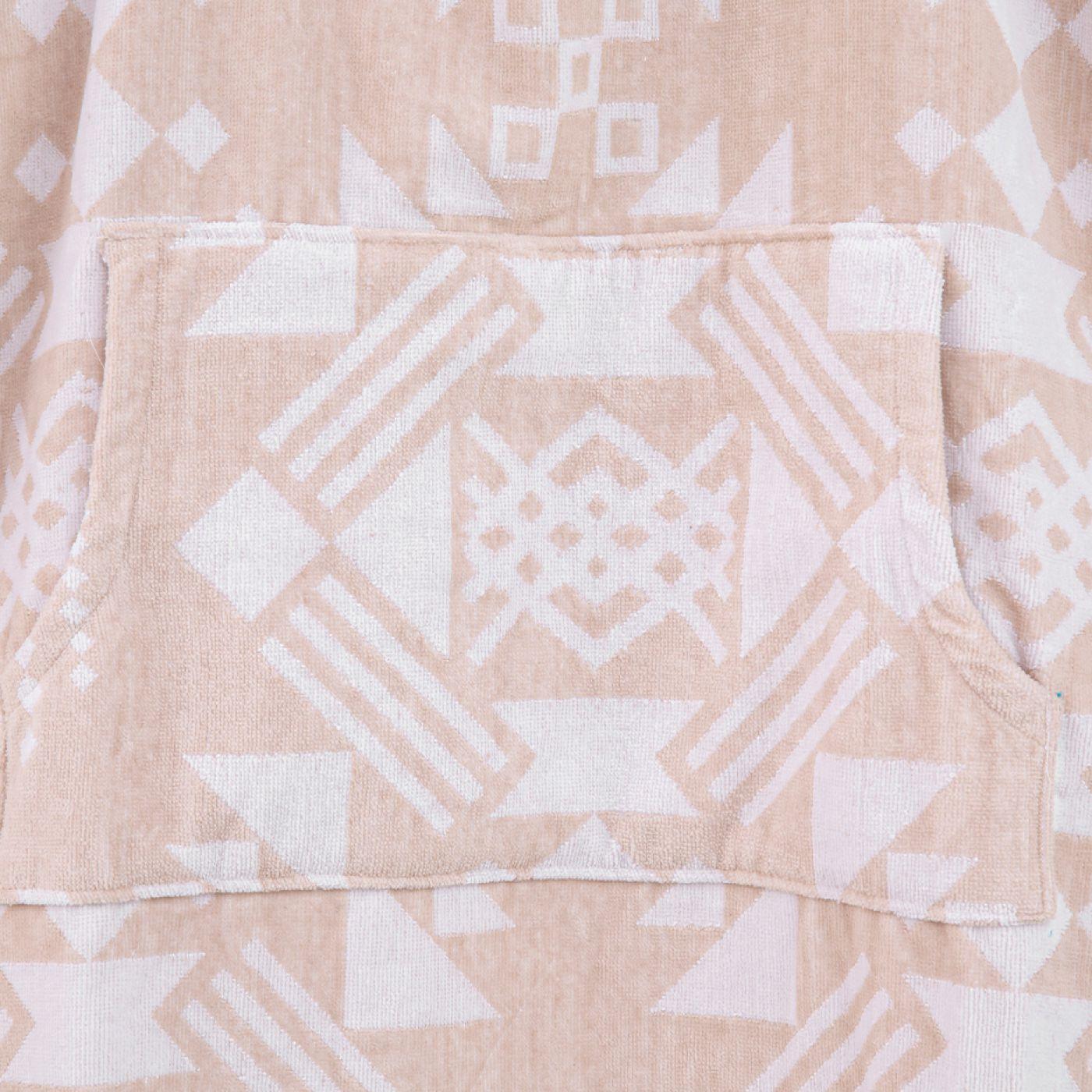 מגבת חוף פונצ'ו
