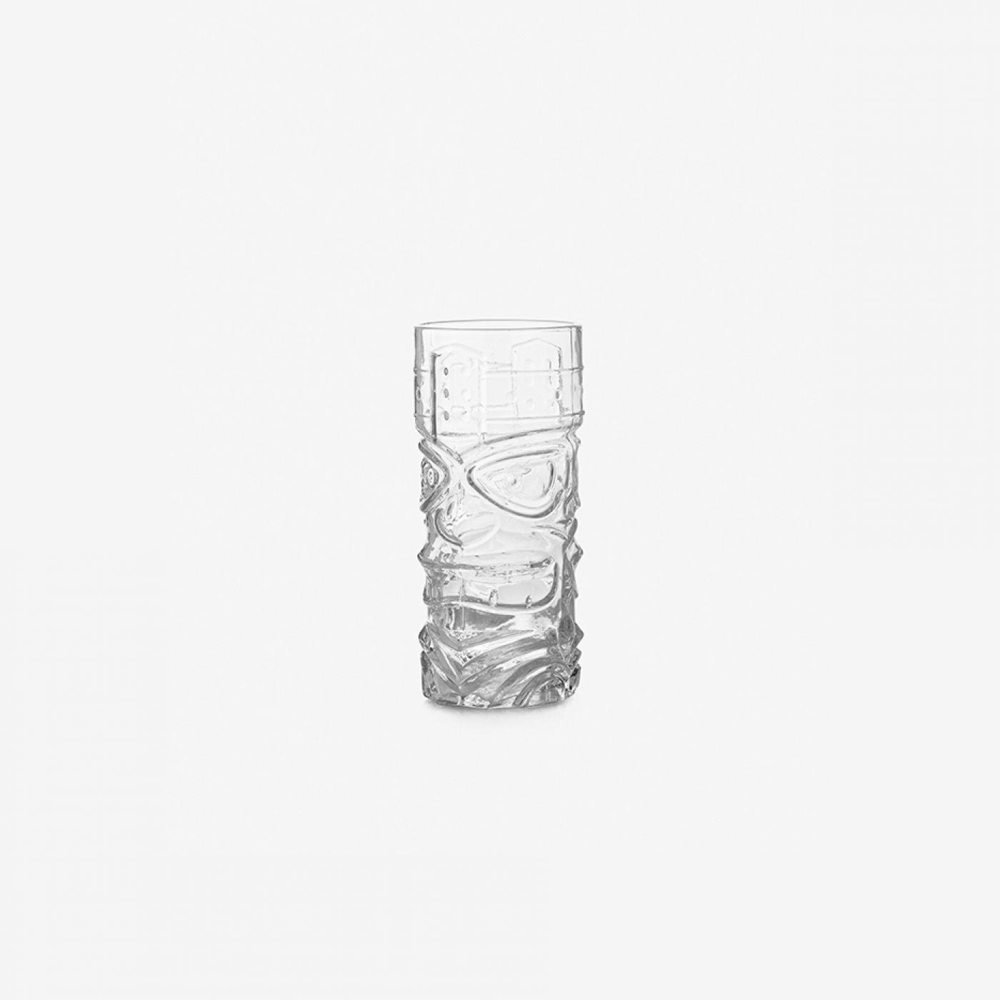 כוס זכוכית TIKI