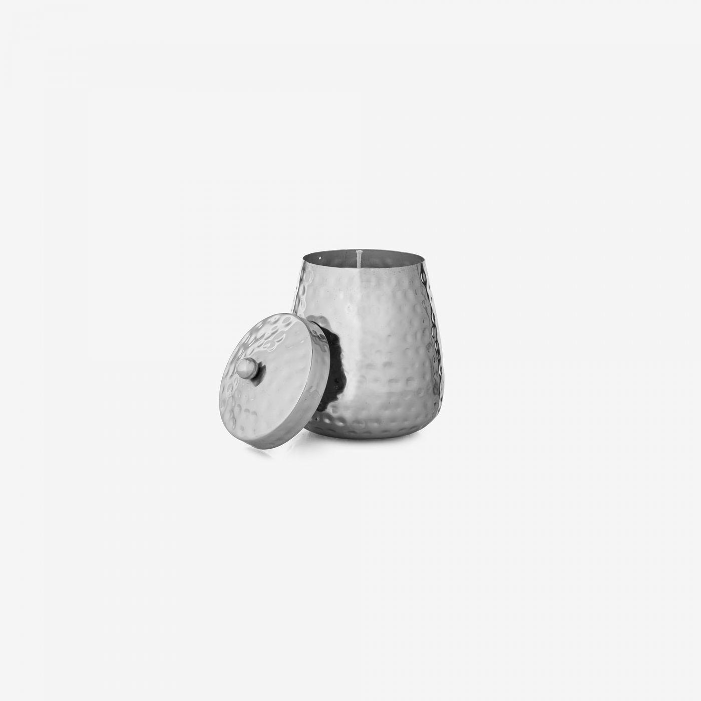 נר ריחני בכלי מתכתי עם מכסה NUR