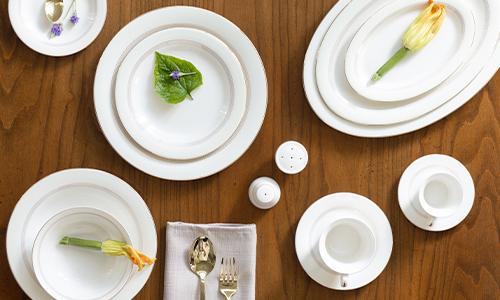 Fine tableware